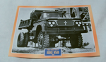 Dodge W500 1962 Dump tipper Truck framed picture